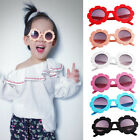 Внешний вид - Cute Baby Boy Girl Round Goggles Toddler Infant Soft Plastic UV400 Sunglasses