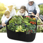 1PC Grow Bag Fabric Raised Planting Bed Window Box Home Garden Plant Care Pot