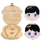 Внешний вид - Tooth Box Organizer Kids Baby Save Milk Teeth Wood Storage Box For Boy Girl Gift