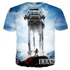 3D T-Shirt Women/Men Star War Warrior Lightsaber Print Casual Short Sleeve Tee