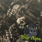 SKULL POWER HYDROGRAPHIC WATER TRANSFER HYDRO FILM DIP APE