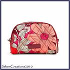 NWT Vera Bradley Small Zip Cosmetic Bag Makeup Travel Case