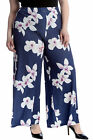 New Ladies Plus Size Palazzo Trousers Women Pants Flared Wide Leg Floral Print