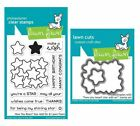 Lawn Fawn How Your Bean? Stars Add-On Stamps (LF1690) or Dies (LF1691)