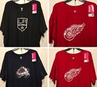 New NHL Women's Plus size T-shirt Hockey Tee Shirt Ladies Big Oversize Tees $10.39 USD on eBay
