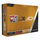 NEW Wilson Staff DUO Urethane Golf Balls White - You Pick the Quantity!