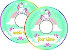Wheelchair Spoke Guard Stickers UNICORN Personalised With Name
