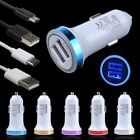 3FT/6FT Type C Cable + Car Charger for ZTE Zmax Pro Blade Z X Max XL LG G7 ThinQ