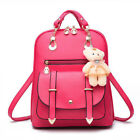 Women Travel Backpack Leather Shoulder Bag Handbag Girls School Satchels Bags
