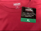 Kirkland Signature Men's 100% Peruvian Pima Cotton SS Crew Neck T-shirt L XL XXL