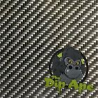 CARBON FIBER 1 TWILL HYDROGRAPHIC WATER TRANSFER HYDRO FILM DIP APE