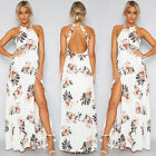 Womens Summer Boho Maxi Dress Evening Cocktail Party Beach Dresses Sundress Long