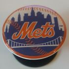 New York Mets Pop Up Expanding Phone Grip Stand with 3D Logo - MLB