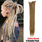 Reggae Dreadlock Dreads Hair Extensions 20/24