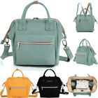 Multifunctional Small Diaper Bag Coddle Nappy Portable Mummy Backpack Changing Bag