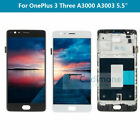 LCD For Oneplus 1+ 3 A3000 A3003 Replacement Digitizer Touch Screen Frame ARL2