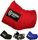 Sedroc Weight Lifting Elbow Wraps Powerlifting Supports - Solid Colors