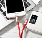 Lightning USB Fast Charger Cable Data SYNC Cord For Apple iPhone 6s 7 8 Plus