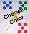 Внешний вид - Girl Scout 5 COLORED DISCS for STAR MEMBERSHIP PIN Blue Green Yellow Disk CHOOSE