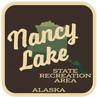 Nancy Lake State Recreation Area  Decal Sticker Explore Wanderlust Camping Hike