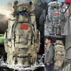 80L Large Army Rucksack Backpack Hiking Tactical Military Camping Survival Bag