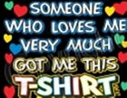 kid t shirt someone love one-piece toddler born baby shower gift US sz new