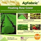 Agfabric Warm Worth Row Cover 2.0oz for Frost Protection Green Seed Germination