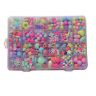 Baby Juguetes Assorted Plastic Acrylic Bead Kit Accessories DIY Toys Jewelry