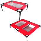 Pet Dog Bed Elevated Raised Pet Cot Detachable Camping Outdoor Steel Frame Bed