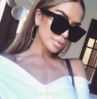 Retro LUX Fashion Oversized TILDA Big Flat Square WaYfe Designer Sunglasses 6601