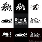 1PC Funny Car Stickers For Auto Vehicle Window Vinyl DIY Decal Waterproof Decor