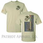 United States Marine Corps USMC Military Veteran Soldier USA Support T-Shirt Tee