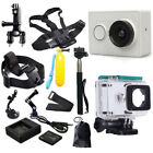 100% XiaoMi Yi WIFI Sports Action Camera+Accessories +Charger+Battery Optional