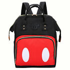 US Multi-Functional Mummy Diaper Bags Large Maternity Backpack Nappy Baby Bag