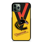 VANCOUVER CANUCKS LOGO iPhone 6 6S 7 8 Plus X XS 11 Pro Max XR Case $15.9 USD on eBay