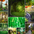 Vinyl Studio Nature Forest Backdrop Photography Props Photo Background 10x10Ft
