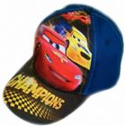 New Kid's Boy's Official Disney's Cars 'Champion' Baseball Cap Hat