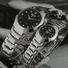 Luxury Couples Couples Watches Stainless Tungsten Plated Alloy Steel  WristwatchWristwatches - 31387
