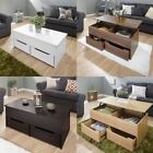 Ultimate Storage Lift Up Coffee Table Tea Split Level Top Table W/ Large Space