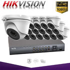 Hikvision 16CH Hiwatch CCTV 1080P Night Vision Outdoor DVR Home Security System