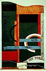 Lucky Strike 1921 by Davis Stuart. Abstract Repro. Highest Quality U.S.A. Prints