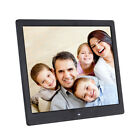"12"" HD Clock MP4 Movie Player Digital Photo Picture Frame Album Remote Control"