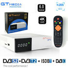 All one 4K Android DVB-T2 Tv Tuner DVB-S2 Satellite Receptor ISDBT Cable Youtube