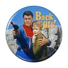 Back Off! Lost in Space John Maureen Ro Button Refrigerator Magnet