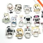 Puppy Mobile Phone Finger Ring Stand Holder Husky Dog Smartphone French Bulldog