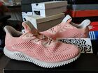 Adidas Alphabounce EM Icey Pink Trace Running White Black Grey Men's BW1206