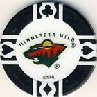 Minnesota Wild NHL Hockey Poker Chips Card Guards Various Colours $1.0 CAD on eBay