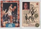 1990-91 Star Pics Autographs Autographed #57 Greg Foster UTEP Miners Auto Card