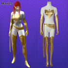 White Phoenix Jean Grey Cosplay X-Men Costume Halloween Women Fabcy Dress Suit