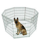 Dog Pet Playpen Tall Wire Fence Dog Cat Folding Exercise Yard 8 Panel Play Pen